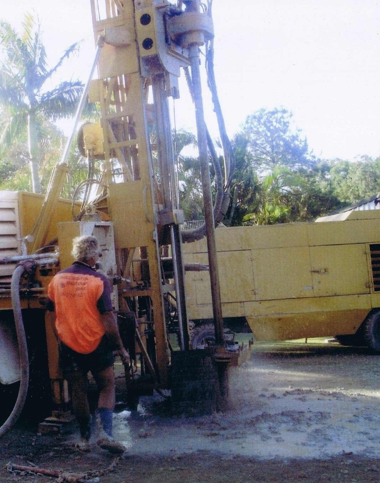Craigs Drilling Water Bore Strike
